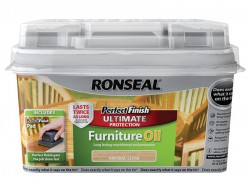 Ronseal Perfect Finish Hardwood Garden Furniture Oil Natural 750ml