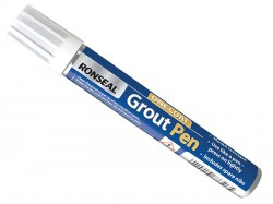 Ronseal One Coat Grout Pen Brilliant White 7ml