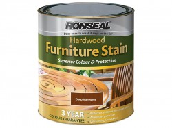 Ronseal Ultimate Protection Hardwood Garden Furniture Stain Deep Mahogany 750ml