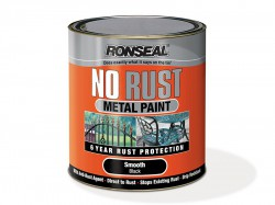 Ronseal No Rust Metal Paint Smooth Silver 250ml