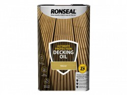 Ronseal Ultimate Protection Decking Oil Natural 5 Litre