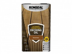 Ronseal Ultimate Protection Decking Oil Natural Cedar 5 Litre