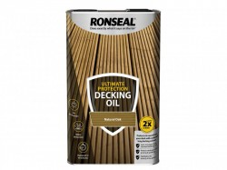 Ronseal Ultimate Protection Decking Oil Natural Oak 5 Litre