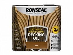 Ronseal Ultimate Protection Decking Oil Teak 2.5 litre