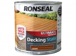 Ronseal Ultimate Protection Decking Stain Cedar 2.5 Litre