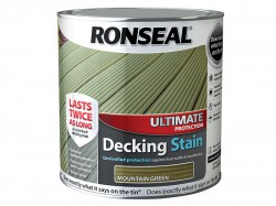 Ronseal Ultimate Protection Decking Stain Mountain Green 2.5 Litre
