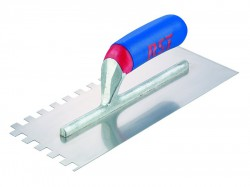 R.S.T. Notched Trowel Square 10mm² Soft Touch Handle 11in x 4.1/2in