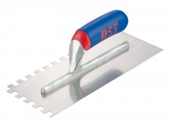 R.S.T. Notched Trowel Square 6mm² Soft Touch Handle 11in x 4.1/2in