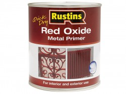 Rustins Quick Dry Red Oxide Metal Primer 250ml