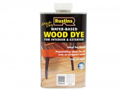 Rustins Quick Dry White Wood Dye 250ml