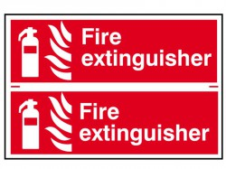 Signs: Fire Extinguisher & Equipment