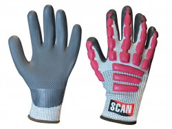 Scan Anti-Impact Latex Cut 5 Gloves - XL (Size 10)