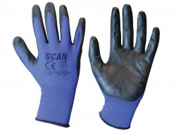 Scan Max. Dexterity Nitrile Gloves - XXL (Size 11)
