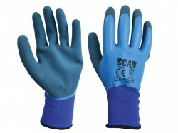 Scan Waterproof Latex Gloves - XXL (Size 11)