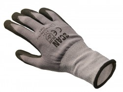 Scan Breathable Microfoam Nitrile Gloves - L (Size 9)