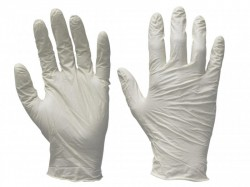 Scan Vinyl Gloves - M (Box 100)