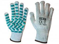 Scan Vibration Resistant Latex Foam Gloves - XL (Size 10)