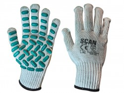 Scan Vibration Resistant Latex Foam Gloves - XXL (Size 11)
