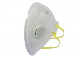Scan Fold Flat Valved Disposable Mask FFP1 (Pack of 10)