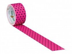 Shurtape Duck Tape® 48mm x 9.1m Polka Dot