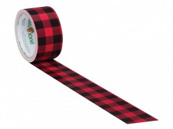 Shurtape Duck Tape® 48mm x 9.1m Buffalo Plaid