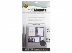 Shurtape Duck® FeltMounts Self-Sticking Memo Board