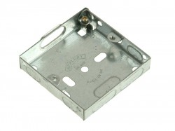 SMJ Metal Box 1 Gang 16mm Depth - Loose