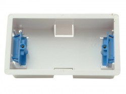 SMJ Dry Lining Box Double 35mm With Eurohook