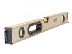 Stanley Tools FatMax Pro Box Beam Spirit Level 3 Vial 90cm