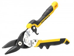 Stanley Tools FatMax® Yellow Ergo Aviation Snips Straight Cut 250mm (10in)