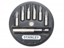 Stanley Tools Insert Bit Set Phillips/Slotted/Pozidriv 7 Piece