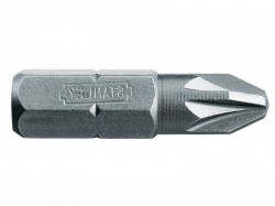 Stanley Tools Pozidriv 1pt Bit 25mm (Box of 25)