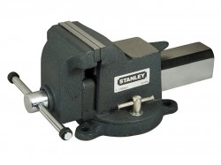 Stanley Tools MaxSteel Heavy-Duty Bench Vice 100mm (4in)