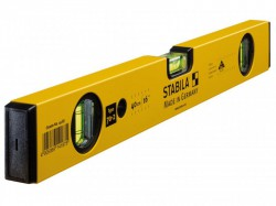 Stabila 70-2-40 Double Plumb Spirit Level 3 Vial 40cm