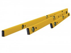 Stabila 70-2 Double Plumb Spirit Level Pack 60cm  120cm & 180cm