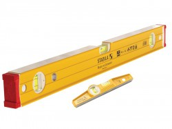 Stabila 96-2-120 Spirit Level & 81 S REM Level Pack