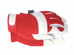Town & Country TGL104M Comfort Fit Red Gloves Ladies - Medium