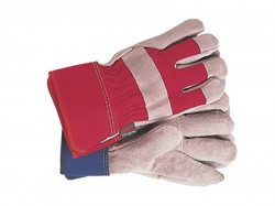 Town & Country TGL106S All Round Rigger Gloves Navy/Red Ladies - Small