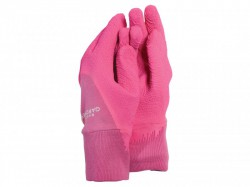 Town & Country TGL271M Master Gardener Ladies Pink Gloves (Medium)