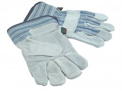 Town & Country TGL410 Mens Suede Leather Palm Gloves