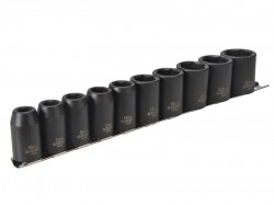 Teng 9121 Impact Socket Set of 10 Metric 1/2in Drive
