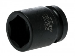 Teng Impact Socket Hexagon 6-Point 1/2in Drive 22mm