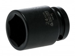 Teng Impact Socket Hexagon 6-Point 1/2in Drive 24mm