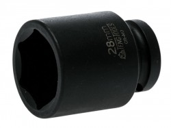 Teng Impact Socket Hexagon 6-Point 1/2in Drive 28mm