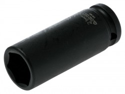 Teng Deep Impact Socket Hexagon 6 Point 1/2in Drive 21mm