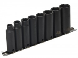 Teng 9386 Deep Impact Socket Set of 8 Metric 3/8in Drive