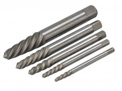 Teng SE05 Screw Extractor Set 5 Piece