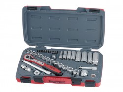 Teng T3839 Socket Set of 39 Metric 3/8in Drive