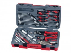 Teng T3848 Socket & Tool Set of 48 Metric & AF 3/8in Drive