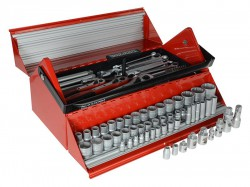 Teng TC187 Mega Rosso Tool Kit Set of 187 1/4, 3/8 & 1/2in